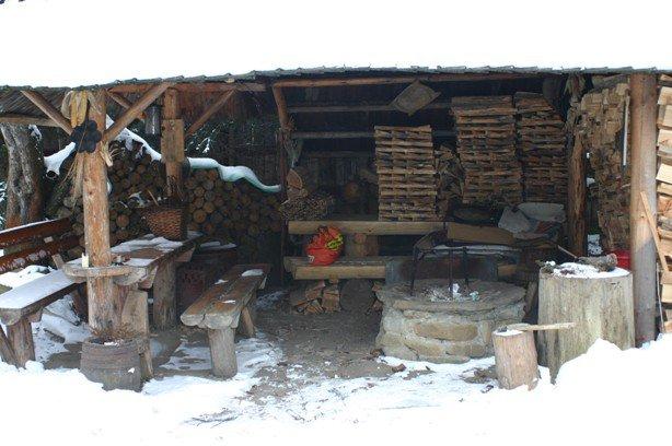 zima v Bušovciach
