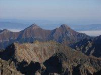 Pohľad z tatranských vrcholov